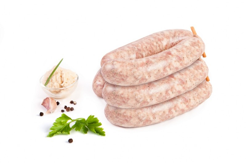 Polish Raw White Sausage