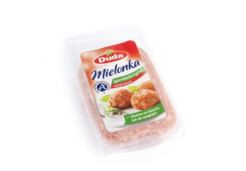 Pork ready-to-cook Polish luncheon meat