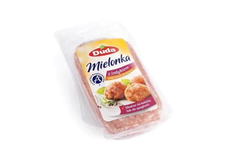 Ready-to-cook Polish luncheon meat with turkey